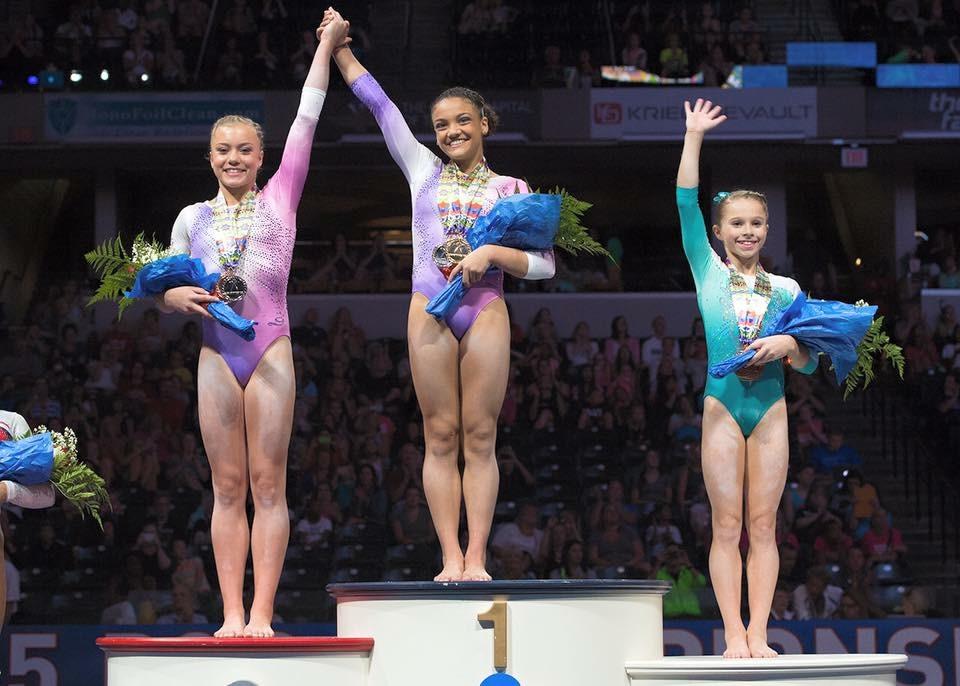 SevenGymnasticsGirls - YouTube